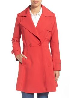 Phoebe Double-Breasted Trench Coat