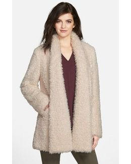 'teddy Bear' Faux Fur Clutch Coat