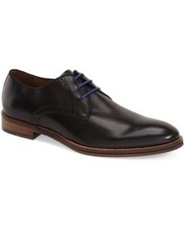 'conard' Plain Toe Derby