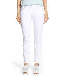 Stretch Organic Cotton Skinny Jeans