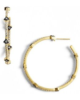'metropolitan' Inside Out Hoop Earrings