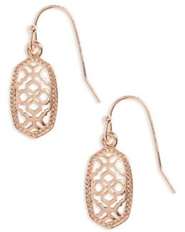 Lee Small Filigree Drop Earring.