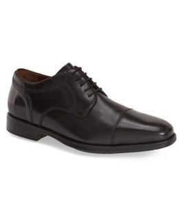 'branning' Waterproof Cap Toe Derby