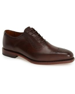 'cornwallis' Medallion Toe Oxford