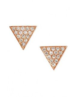 'emily Sarah' Diamond Pave Triangle Stud Earrings (nordstrom Exclusive)