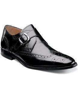 'sabato' Wingtip Monk Strap Shoe