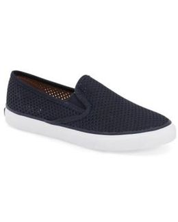 'seaside' Perforated Slip-on Sneaker