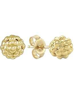 'caviar Icon' Stud Earrings