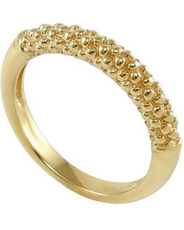 Caviar Band Ring