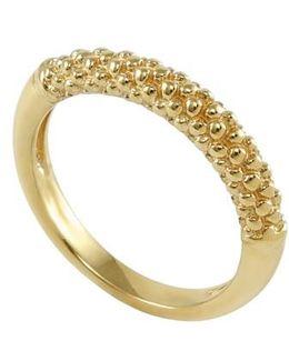 Caviar Band Ring