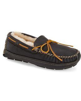 Genuine Shearling Leather Slipper