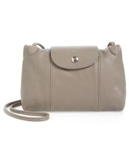 Le Pliage Cuir Bag