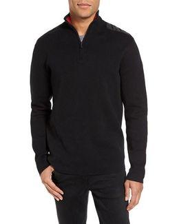 Victorinox Swiss Army 'lieutenant' Half Zip Sweater