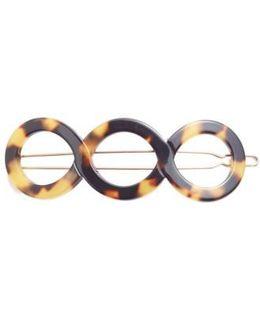 Triple Circle Tige Boule Barrette