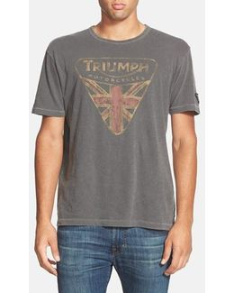 'Triumph Badge' Graphic T-Shirt