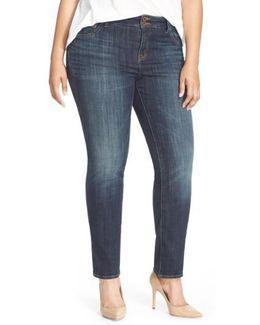 'emma' Stretch Straight Leg Jeans