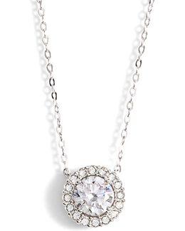 Halo Pendant Necklace