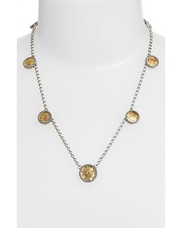 'goddess' Coin Necklace