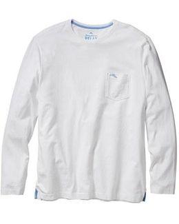 'bali Skyline' Long Sleeve Pima Cotton T-shirt