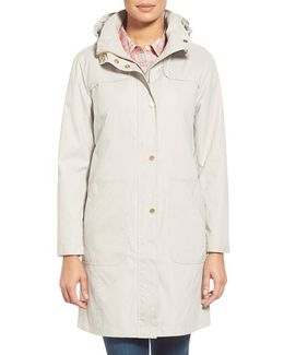 A-line Raincoat With Detachable Hood