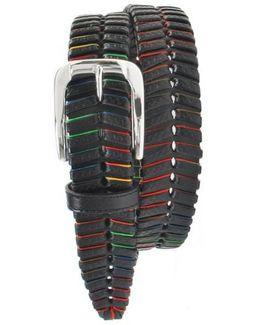 'livingston' Leather Belt