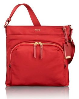 'voyageur - Capri' Nylon Crossbody Bag