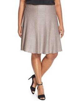 'twirl Flirt' Paneled Skirt