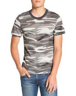 Print Crewneck T-shirt