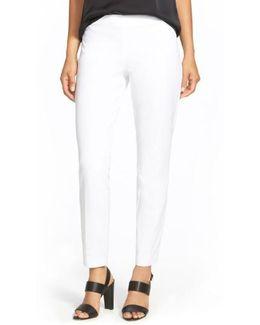 'Juliette' Slim Stretch Wool Pants