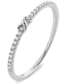 Stackable Knot Pave Diamond Ring (nordstrom Exclusive)