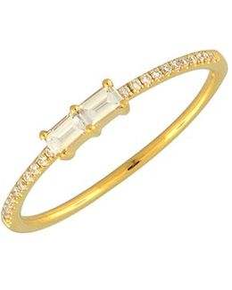 Double Baguette Diamond Ring (nordstrom Exclusive)