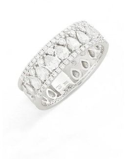 Liora Diamond Mixed Cut Band Ring (nordstrom Exclusive)