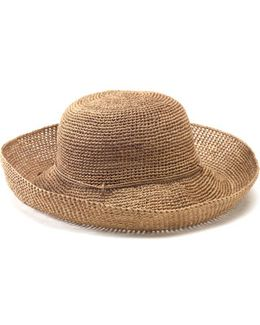 'provence 12' Packable Raffia Hat