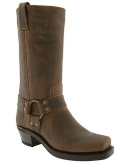 'harness 12r' Leather Boot