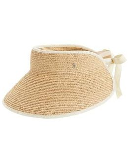'mita' Packable Raffia Visor