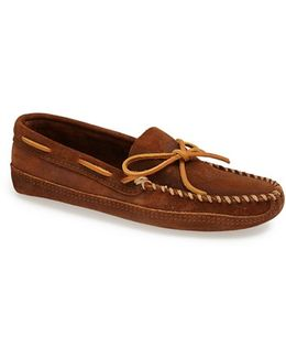 Suede Sole Moccasin