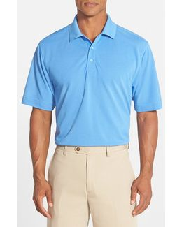 'championship' Classic Fit Drytec Golf Polo
