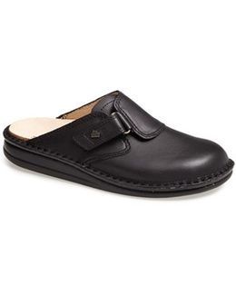 'venice' Leather Clog