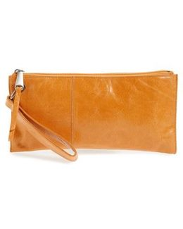 'vida' Leather Clutch