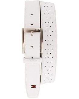 'tiger Woods' Mesh Leather Belt