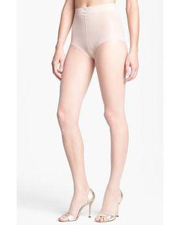 Donna Karan The Nudes Toeless Pantyhose