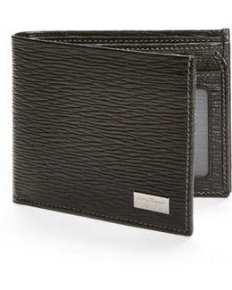 Stamped Calf Wallet