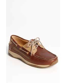 'gold Billfish 3-eye' Boat Shoe