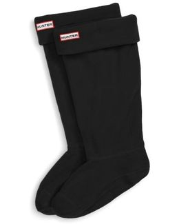 Original Tall Fleece Welly Boot Socks