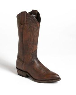 'billy' Leather Western Boot
