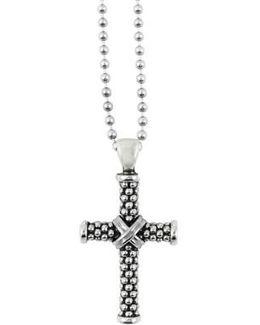 Caviar Long Pendant Necklace