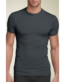'u5551' Modal Blend Crewneck T-shirt