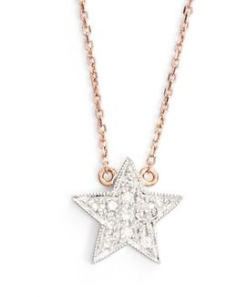 'julianne Himiko' Diamond Star Pendant Necklace