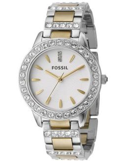 'jesse' Crystal Embellished Bracelet Watch