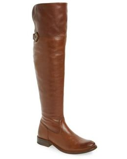 Shirley Leather Over-The-Knee Boots